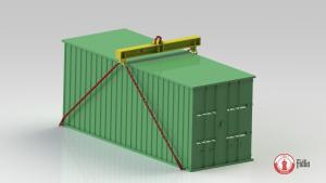 Trawers TTPK do podnoszenia kontenerów